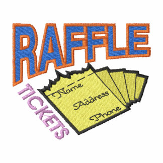 Raffle Tickets Embroidered Hoodie