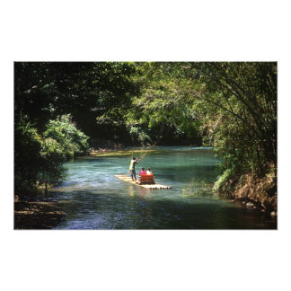 Rafting on the Martha Brae River, Falmouth, Photograph