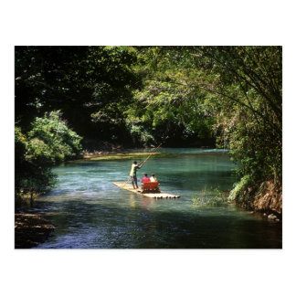 Rafting on the Martha Brae River, Falmouth, Postcard