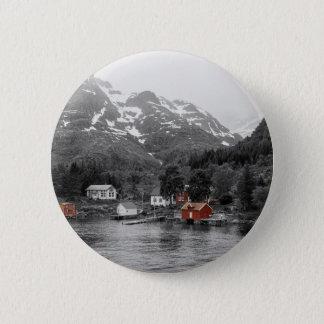 Raftsund - Norway 6 Cm Round Badge