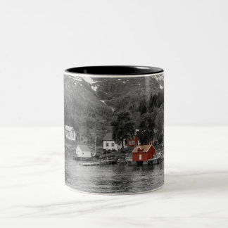 Raftsund - Norway Two-Tone Coffee Mug