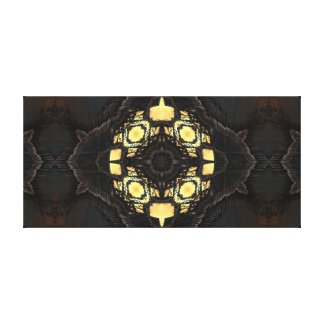 Rag Tag Symmetry Canvas Print