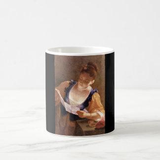 Ragazza che legge', Jean Raoux_Portraits Coffee Mug