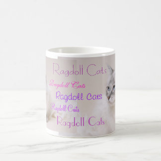 Ragdoll Cat beverage mug