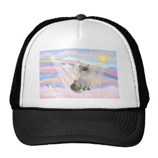 Ragdoll Cat (Blue Point) Angel - Clouds Cap