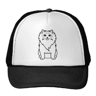 Ragdoll Cat Cartoon Cap
