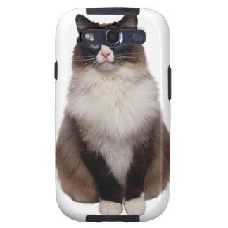 Ragdoll Cat Galaxy SIII Cases
