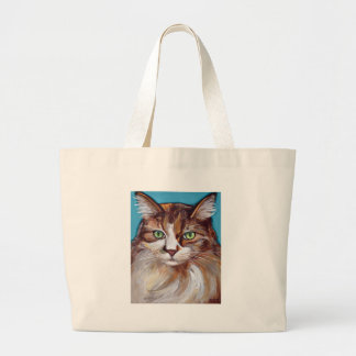 Ragdoll Cat Large Tote Bag
