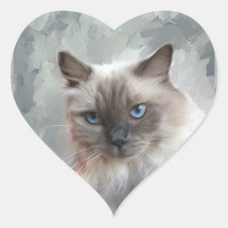Ragdoll Cat Stickers