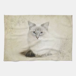 ragdoll cat towel