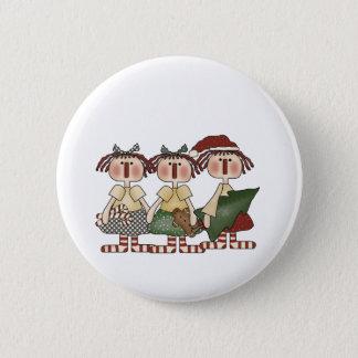 Ragdoll Friends Holiday 6 Cm Round Badge