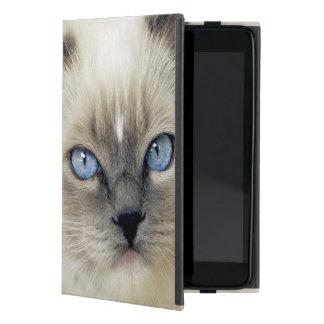 Ragdoll kitten iPad mini cover