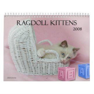 Ragdoll Kittens Calendar