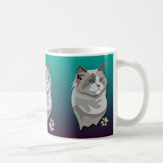 Ragdoll Kitty Cat Mug