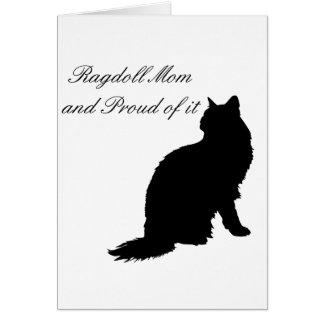 Ragdoll Mom Card
