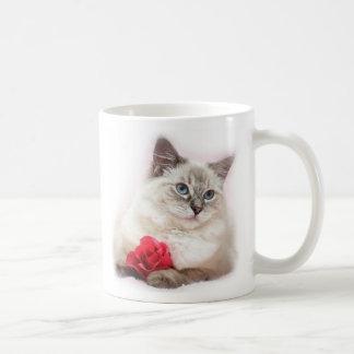 Ragdoll valentine mug