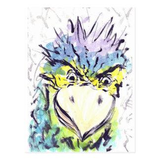 Rage Bird Postcard