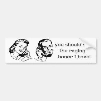 Rage Bumper Sticker