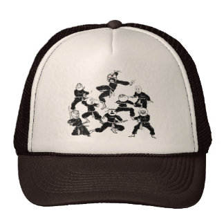 Rage Comic Faces Meme Ninja Gang Hat