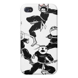 Rage Comic Meme Faces Gang Ninjas Speck Case iPhone 4/4S Case