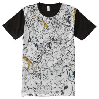 Rage Face Gang All-Over Print T-Shirt