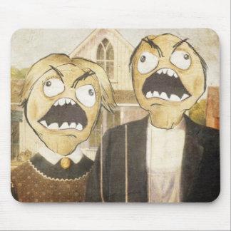 Rage Face Meme Face Comic Classy Painting Mousepad