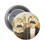 Rage Face Meme Face Comic Classy Painting Pin
