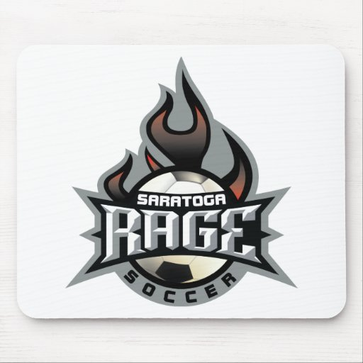 Rage Fire Mouse Mats