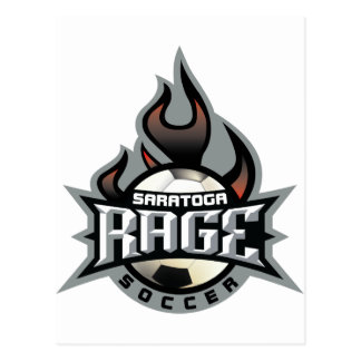 Rage Fire Postcard