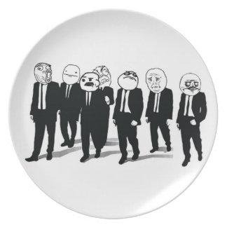 Rage Gang Plate