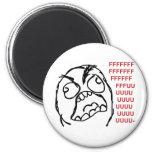 Rage guy fuuu fuuuu refrigerator magnets