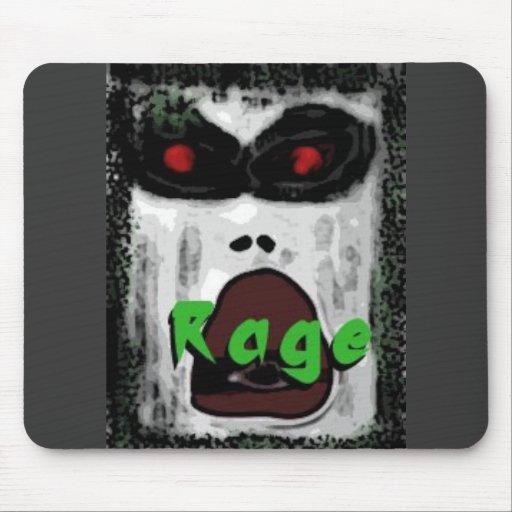 Rage Mouse Pad