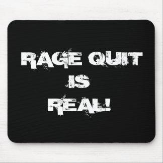 Rage Quit Mousepad