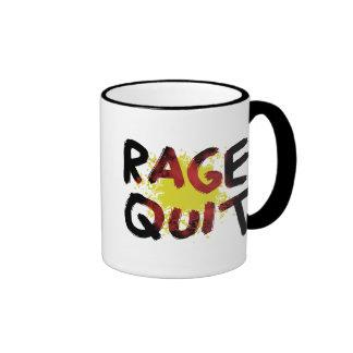 Rage Quit Coffee Mugs
