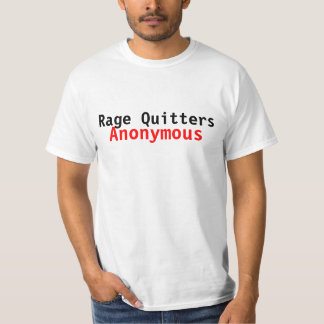 Rage Quitters Anonymous (VideoGame Tee) Tees