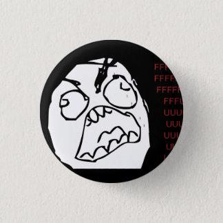 Rage Troll 3 Cm Round Badge