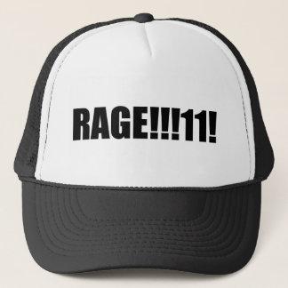 RAGE !!!!! TRUCKER HAT