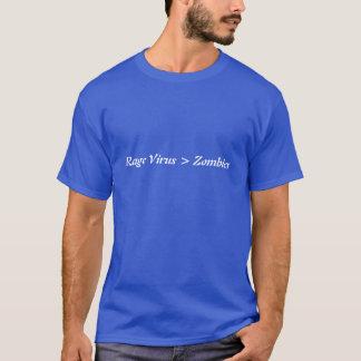 Rage virus vs. zombies T-Shirt