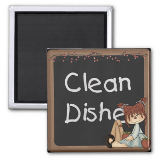 Raggedy Annie Apples Dishwasher Magnet