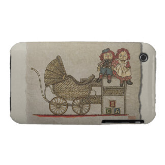 Raggedy Doll & Baby Buggy iPhone 3 Case