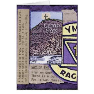 Raggers Lyrics and Bibles Peak Catalina Island Card