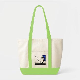 Raghouse International Logo Tote Lime Green Bag