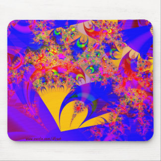 Raging Blue Indifference Mouse Pad