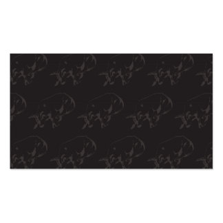 Raging Bull Dark Business Card Template