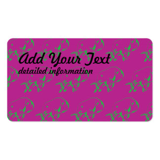 Raging Bull Green Magenta Pack Of Standard Business Cards