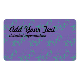 Raging Bull Green Purple Pack Of Standard Business Cards