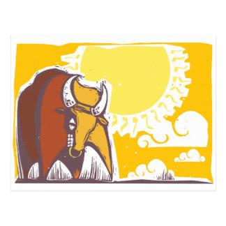 Raging Bull Post Cards