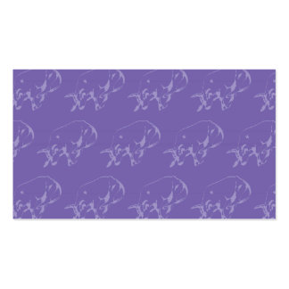 Raging Bull Purples Business Cards