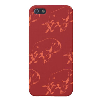 Raging Bull Reds iPhone 5 Covers