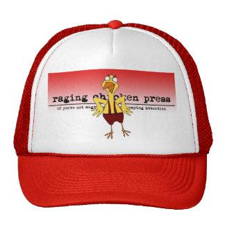 Raging Chicken Press Mesh Hat